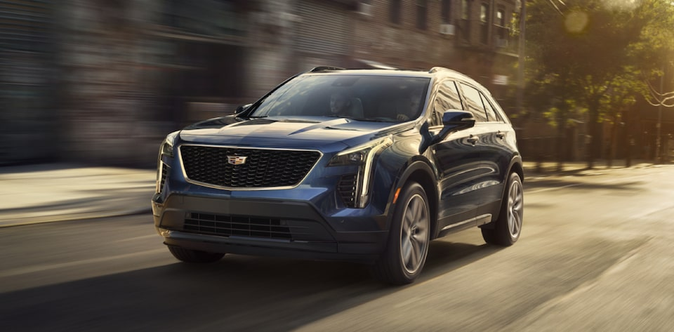 Cadillac XT4 Crossover Front Side Exterior